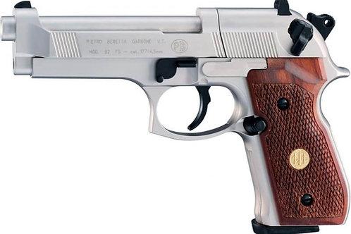 Beretta M 92 FS Nickel Wood