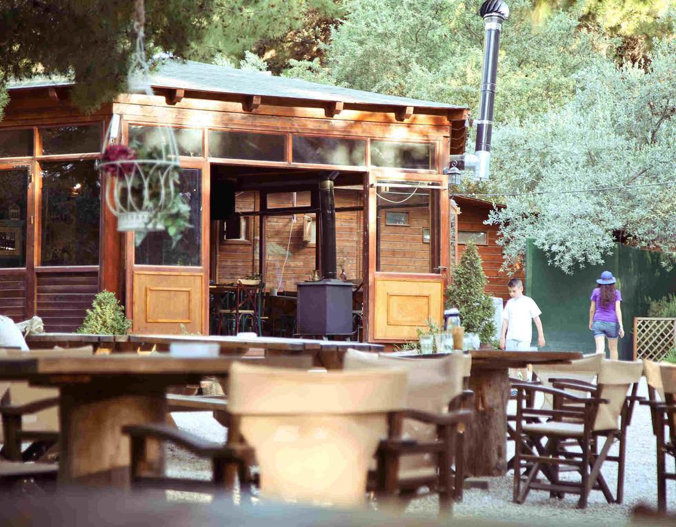 Garden Cafe | Εξωτερικός χώρος