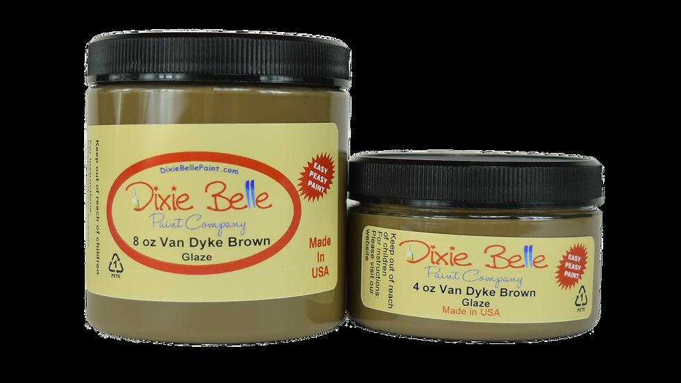Van Dyke Brown Glaze