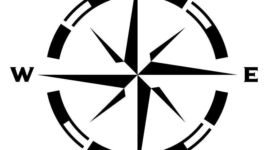 Compass Rose Stencil (Small)
