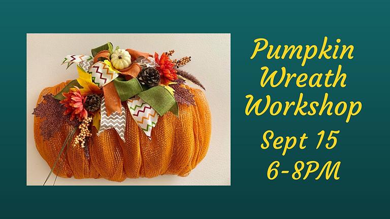 2 left- Pumpkin Wreath Workshop