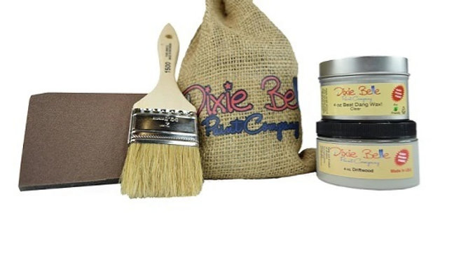 Dixie Belle Gift Bag (DRIFTWOOD WITH CLEAR WAX)
