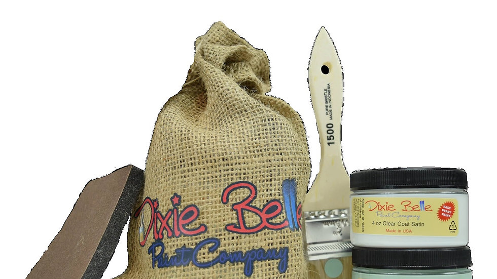 Dixie Belle Paint Gift Bag (SEA GLASS WITH CLEAR COAT)