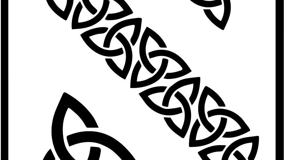 Celtic Chain Stencil
