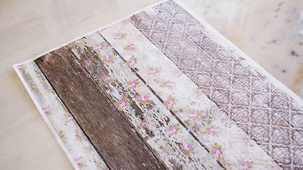 Dixie Belle Pallet Wood Deco Paper