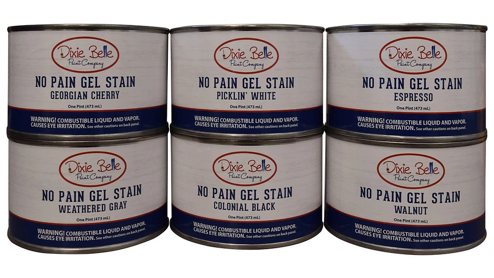 NEW No Pain Gel Stain