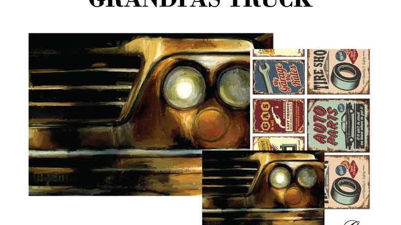 Grandpas Truck Decoupage Pack