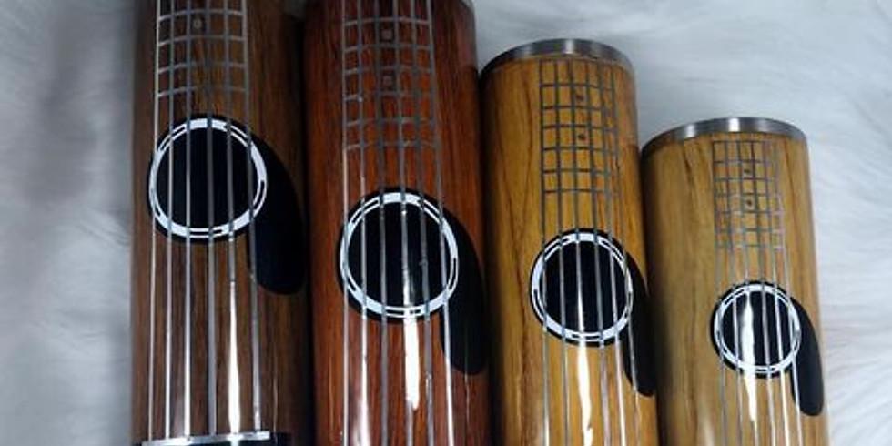 Guitar Resin Tumbler Workshop