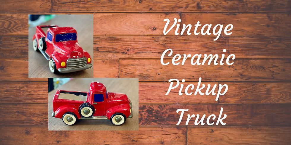 Vintage Ceramic Truck