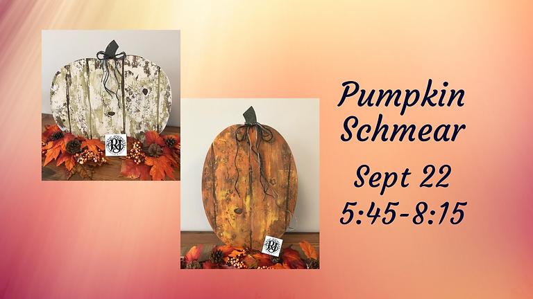 4 Left- Pumpkin Schmear