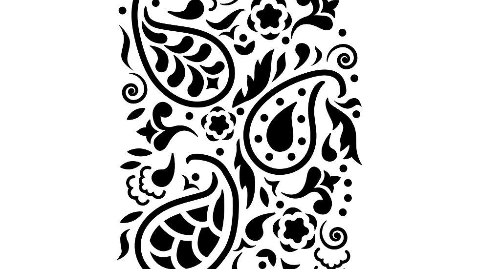 Paisley Stencil