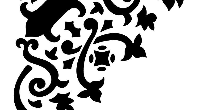 Corner Embellishment Stencil