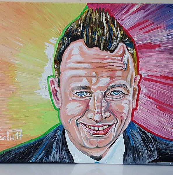 """Marko """"Reikopi portree"""" 50x70cm õli lõuendil"""