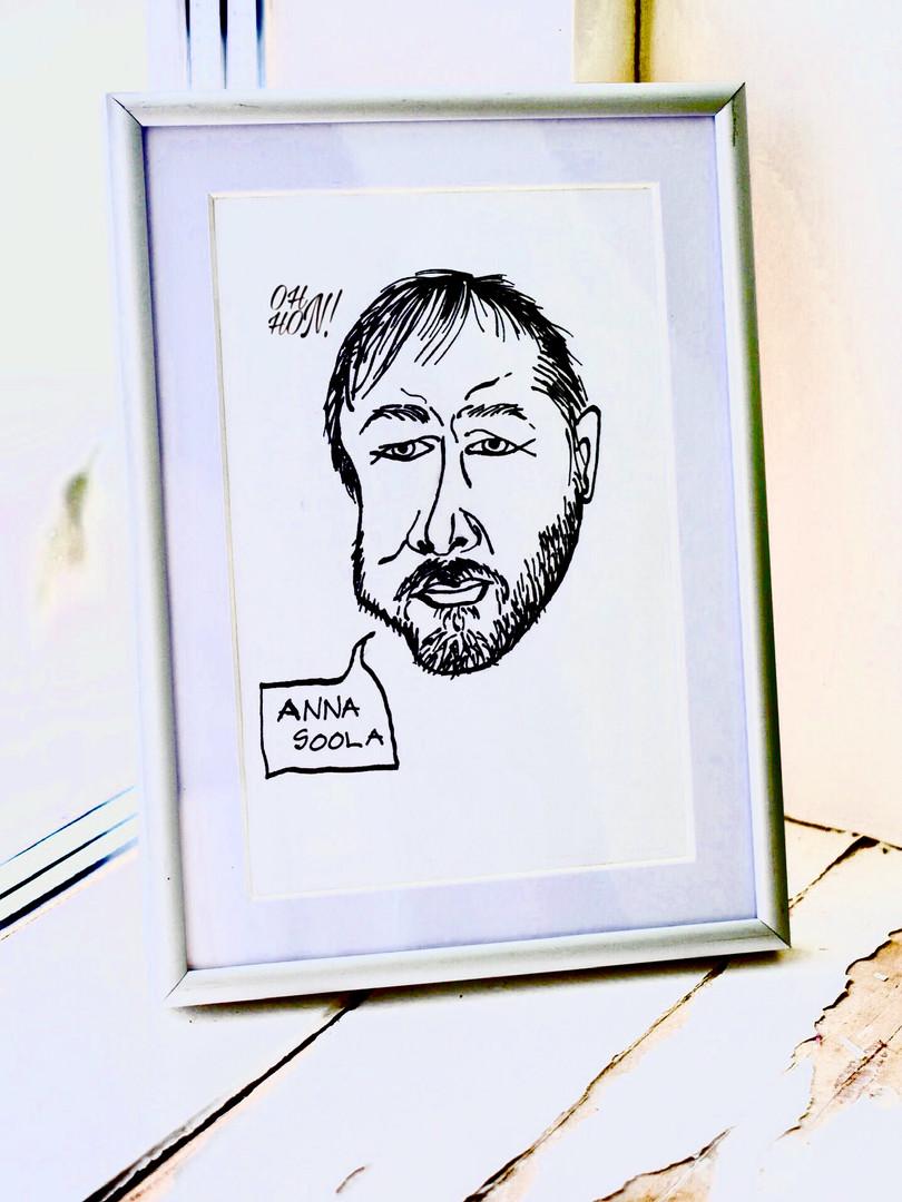 Meeri karikatuur