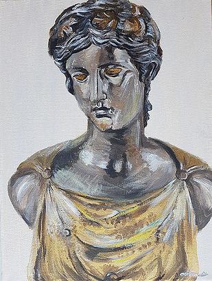 """Ariadne büst"" Carola Kanarbik"