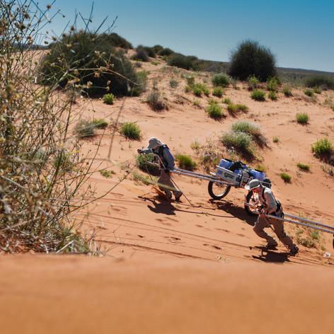 Last Great March - Simpson Desert Australia