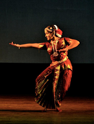 Performing in India