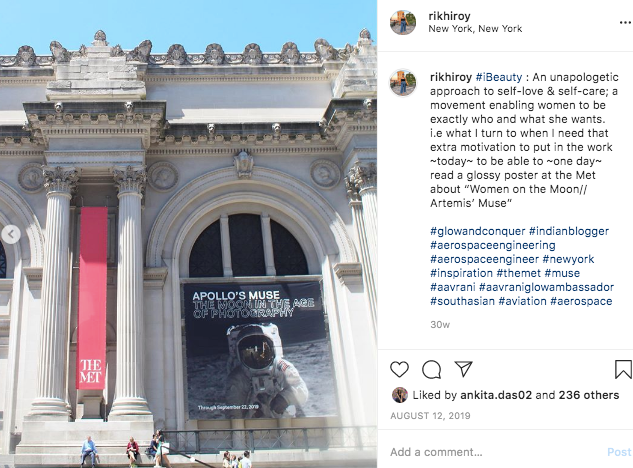 """#iBeauty : An unapologetic approach to self-love & self-care; a movement enabling women to be exactly who and what she wants. i.e what I turn to when I need that extra motivation to put in the work ~today~ to be able to ~one day~ read a glossy poster at the Met about """"Women on the Moon// Artemis' Muse"""""""