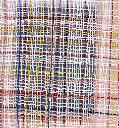 Gabrielle Kruger_Pasted Weave_2019_Acryl