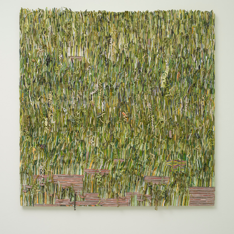 The Grass is Greener Made of Paint (2018)
