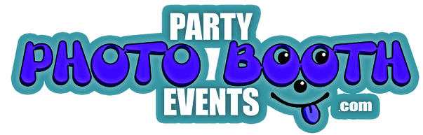 Party Photo Booth Events Logo