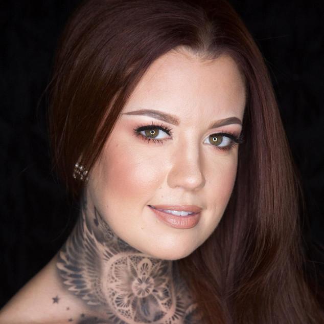 Neck Airbrush Tattoo