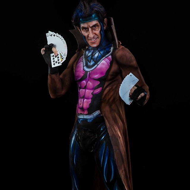 Gambit Body Paint