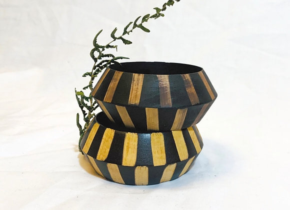 Patterned Wood Bangle