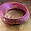 Thumbnail: Pink Aluminium Simple classic Bangle