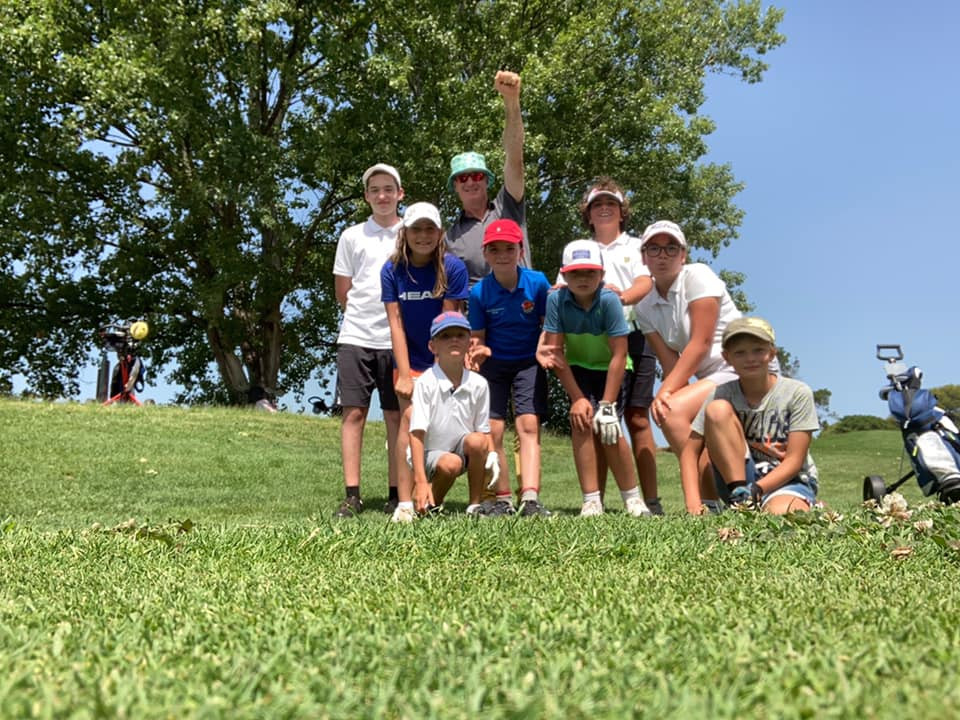 Stage enfants golf Saint Thomas