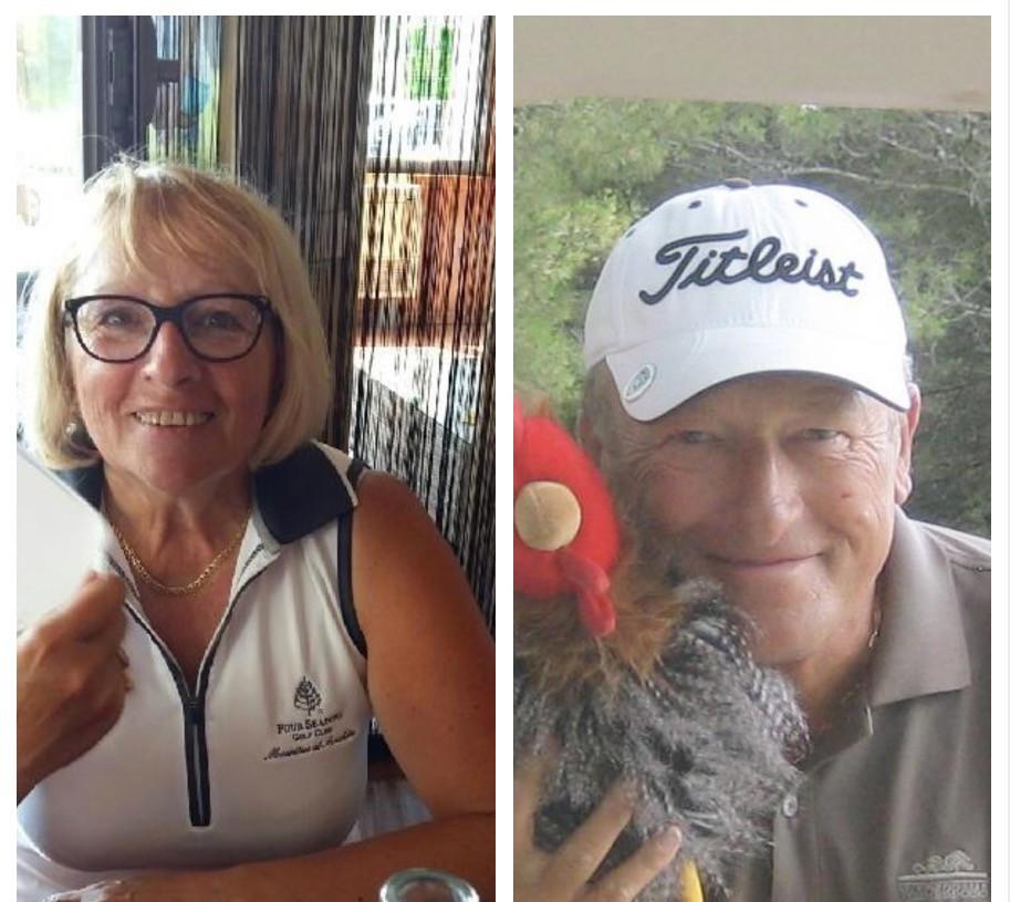 Marie-Claude Saldane Francis Boussat golf Saint Thomas