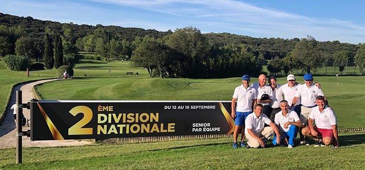 Equipe Seniors golf Saint Thomas
