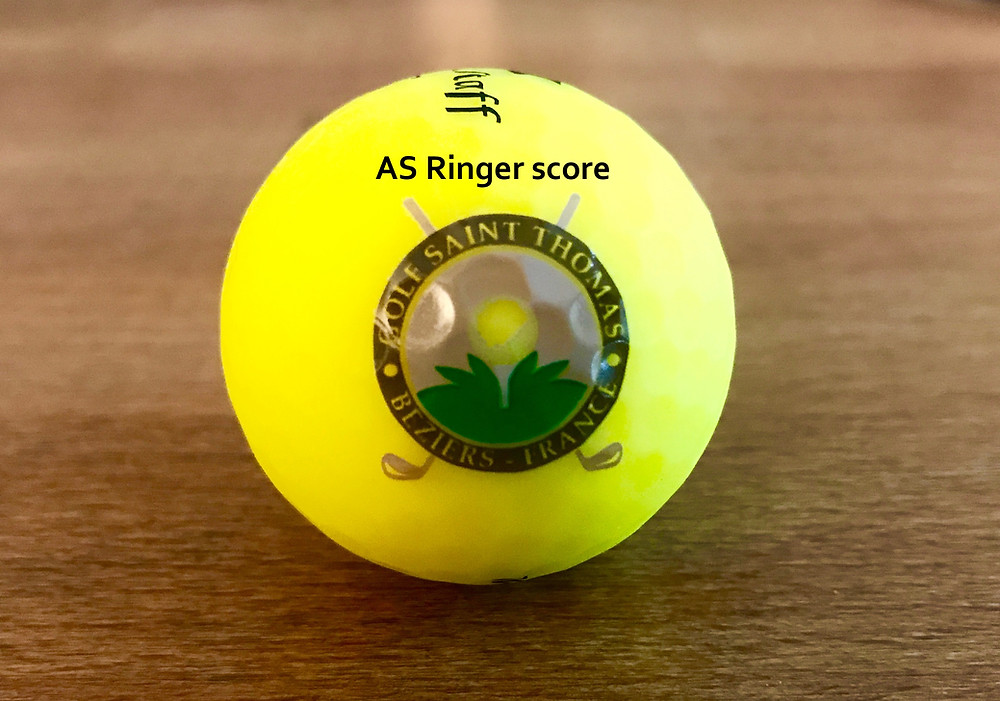 compétition AS Ringer Score golf Saint Thomas