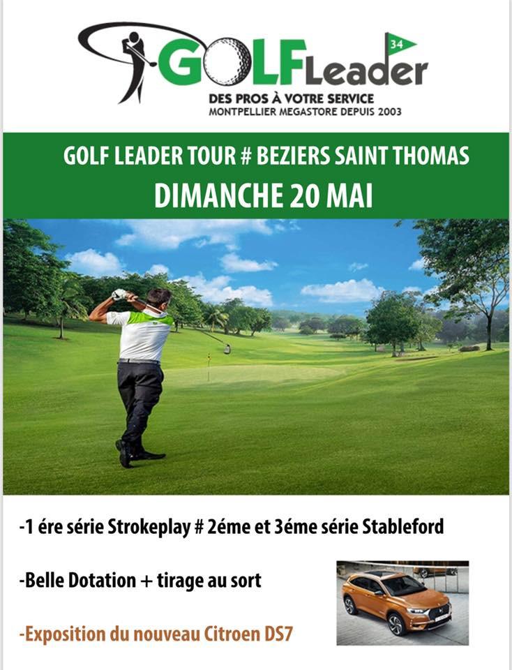 Compétition Golf leader golf Saint Thomas