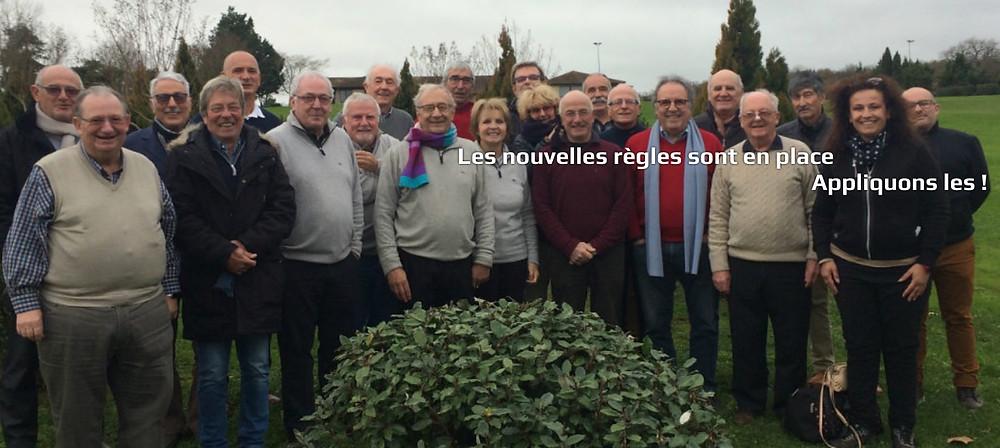 Laure Mignon:   Arbitre de Ligue Golf de Saint Thomas