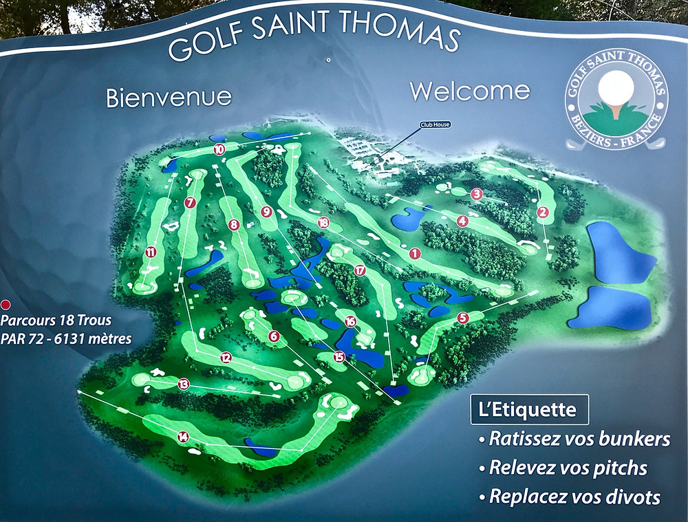 Promotion Nationale Messieurs golf Saint Thomas