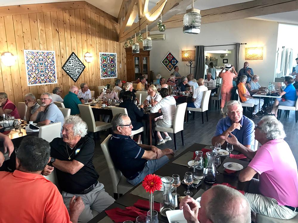 compétition Seniors avril 2018 golf Saint Thomas