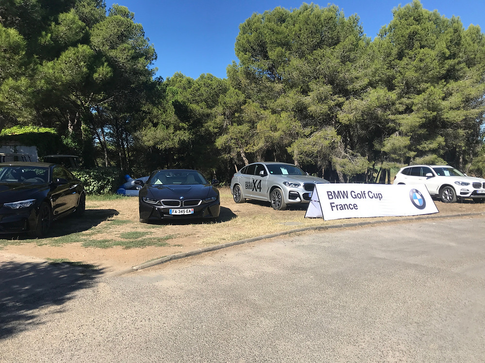 compétition BMW  golf Saint Thomas
