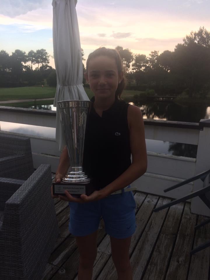 Louise Reau golf Saint Thomas