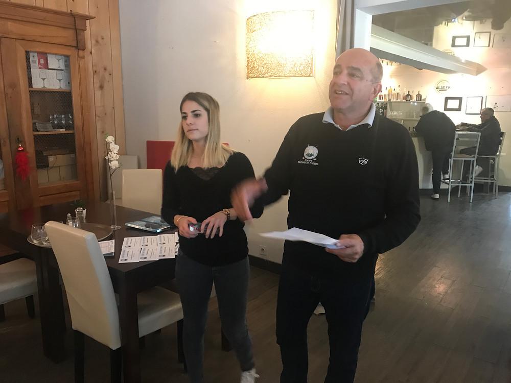 Compétition Seniors décembre 2017 golf Saint Thomas