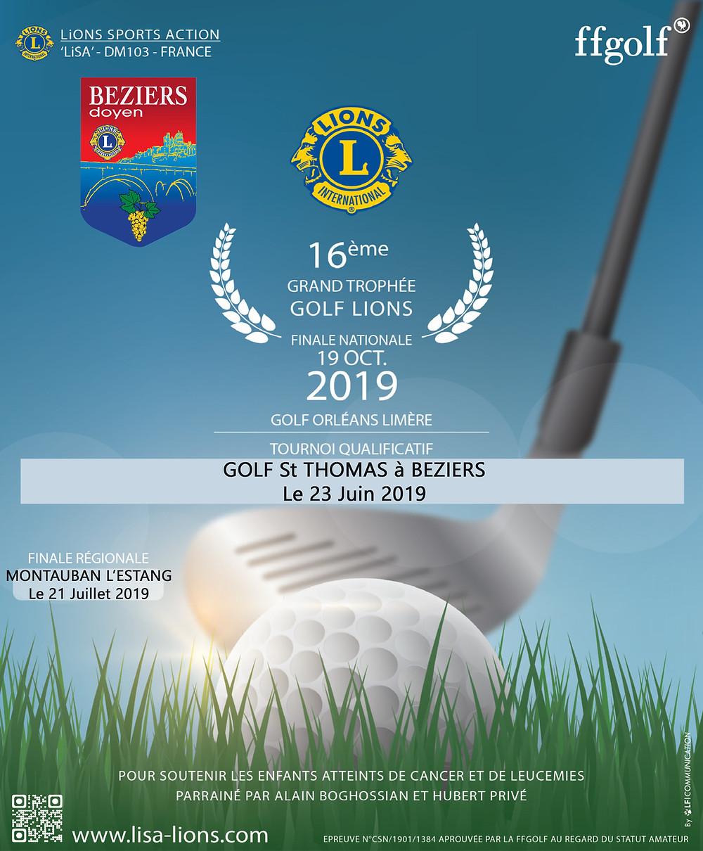 Grand Trophée Lion's Club golf Saint Thomas