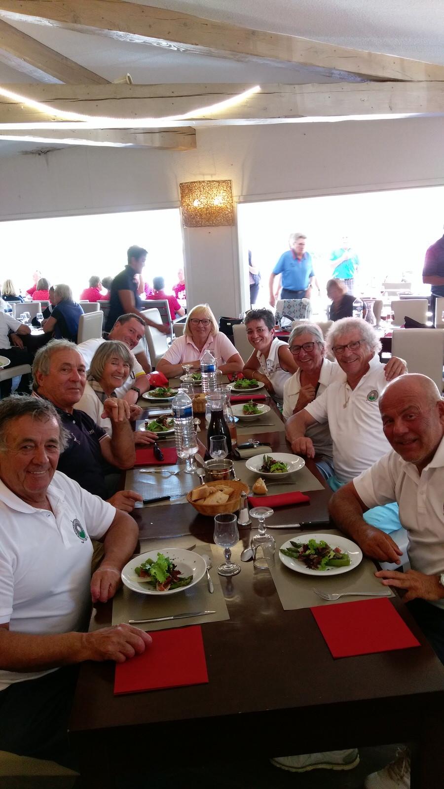 compétition Seniors Occitanie golf Saint Thomas