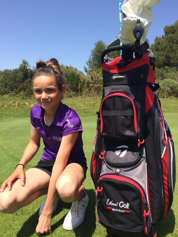Louise Reau golf Saint Thomas