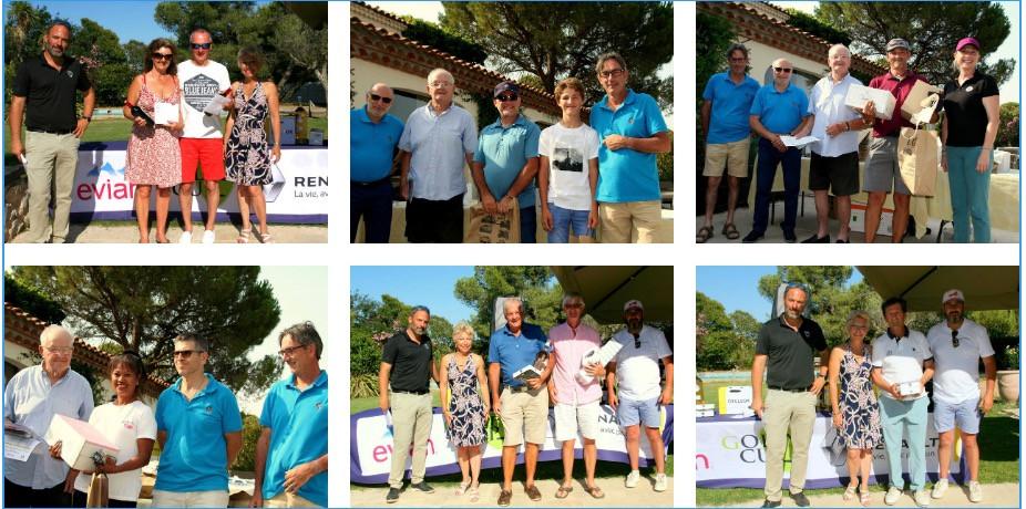 Compétitions golf Saint Thomas
