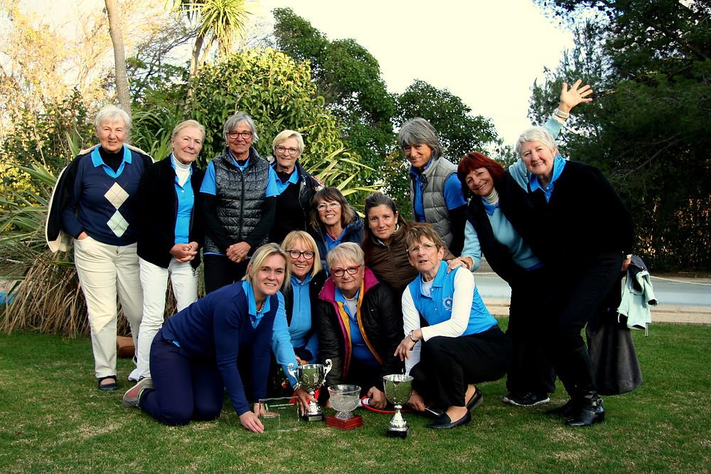 Equipe Féminine golf Saint Thomas