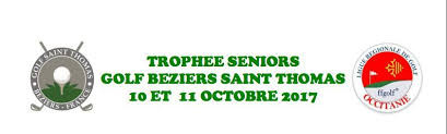 Trophée Seniors au golf Saint Thomas.
