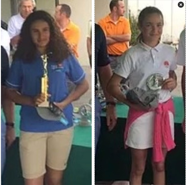 Sofia Valera Louise Reau golf Saint Thomas