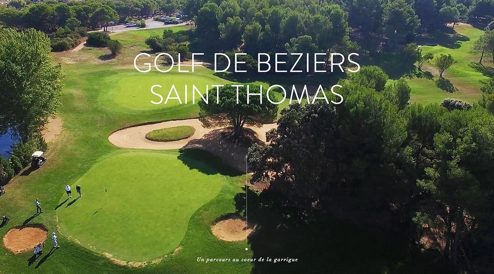 Compétition de qualification régionale golf Saint Thomas