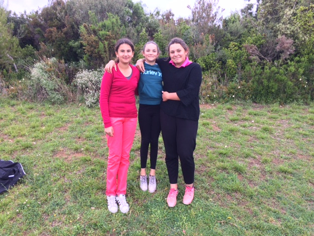 Alexandra, Sofia, Louise