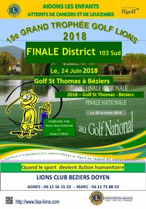 Compétition Seniors golf Saint Thomas